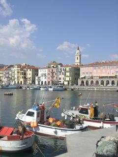 Fischerhafen in Imperia