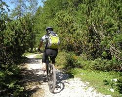 Mountainbike, Fahrradtour